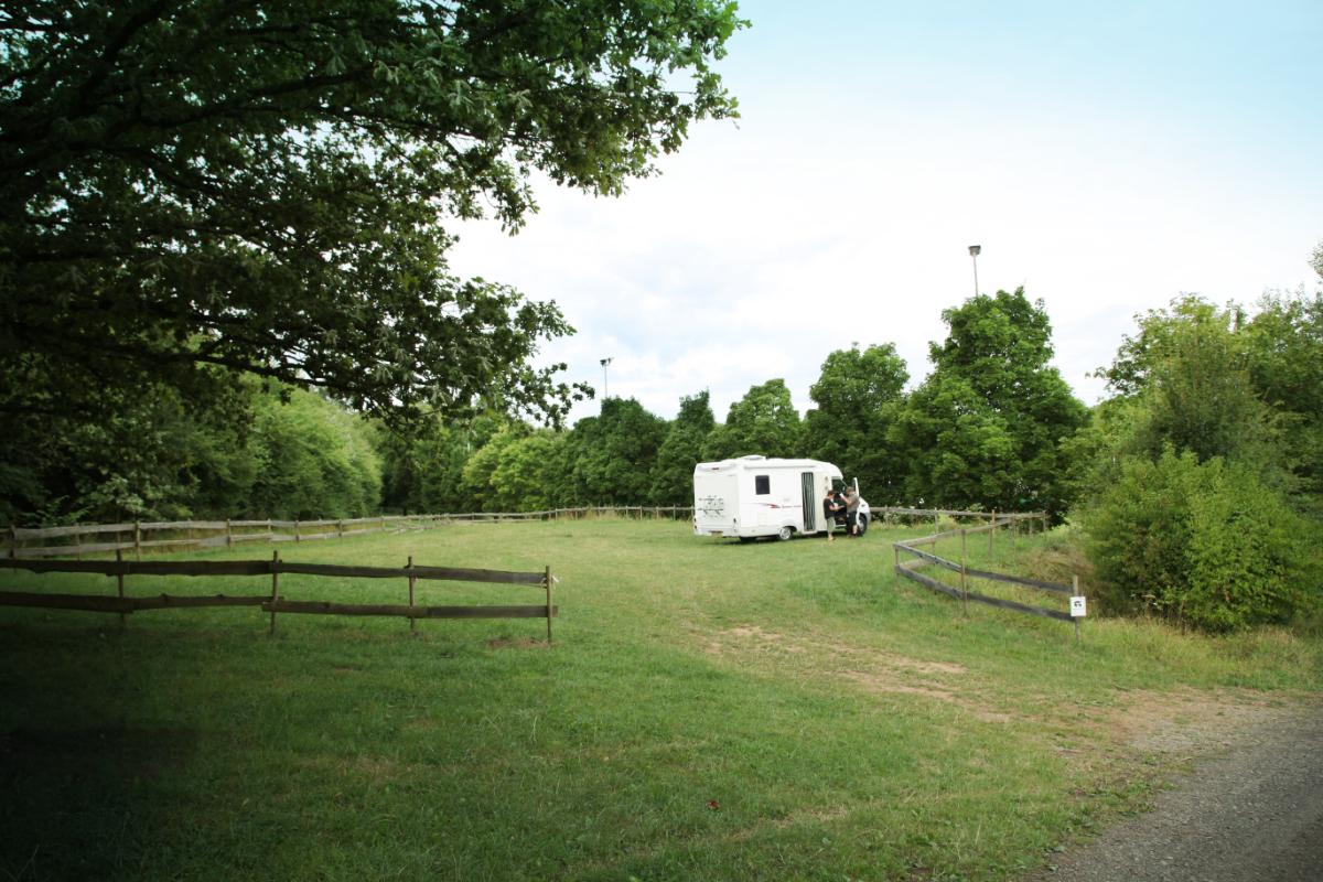 Campingstellplätze in der Austraße