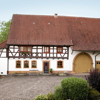 """Hertels"" Fachwerkhaus erbaut 1740"