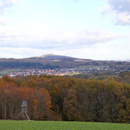 Im Herbst 2012 | Vom höchsten Punkt in Richtung Niederstaufenbach aus