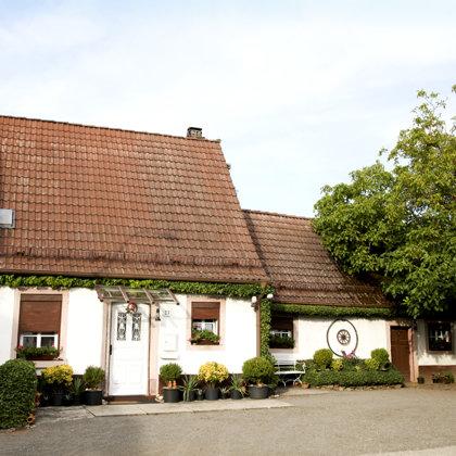 Malerisches Häuschen in der Höhstraße