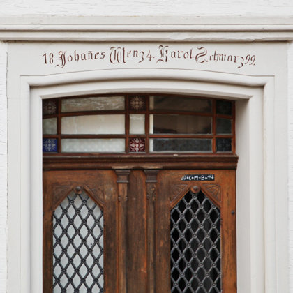 """Tür von """"Hofhannesse"""""""